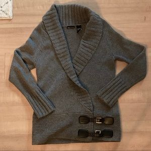 Never Worn Wrap Knit Wool Sweater cardigan